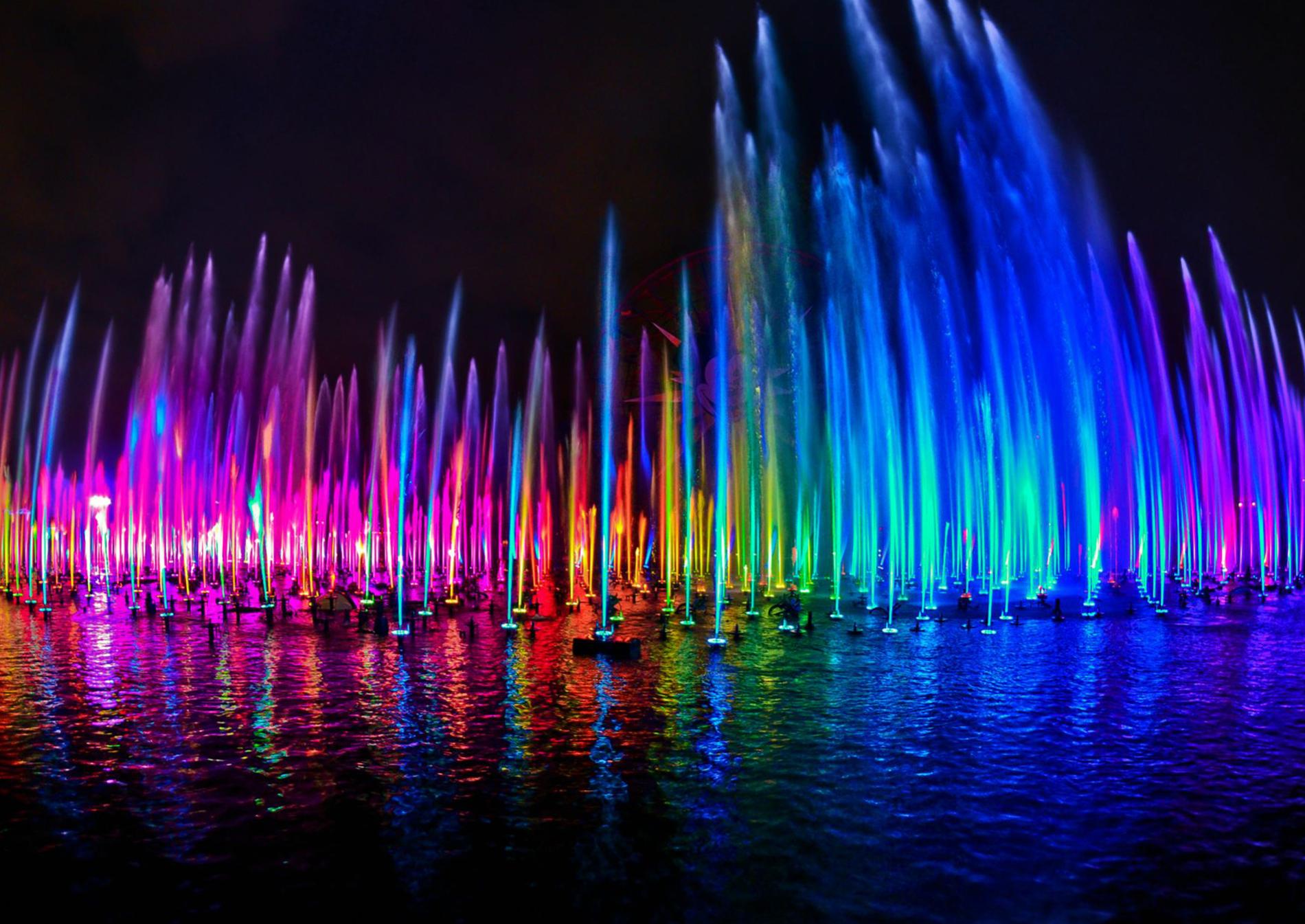 Fuentes de agua boquillas e ilimunaci n de fuentes fuentes bailarinas - World of color wallpaper ...